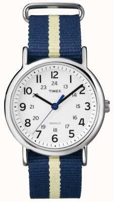 Timex 中性靛蓝周末手表 T2P142