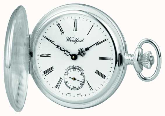 Woodford 银色猎人pocketwatch 1064
