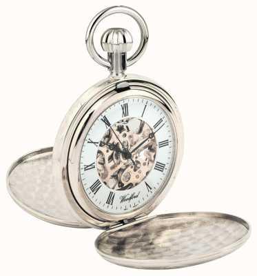 Woodford 完整的猎人骨架手表 1062