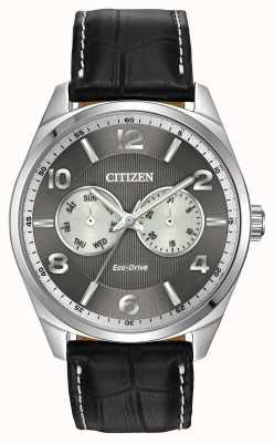 Citizen 男士不锈钢灰色表盘手表 AO9020-17H