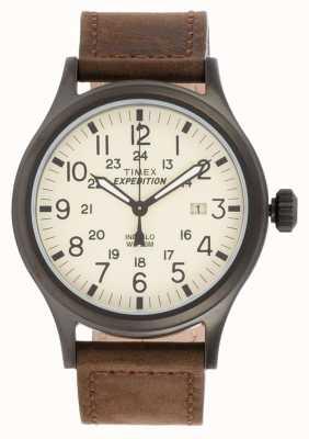 Timex 男士远征侦察员布朗手表 T49963