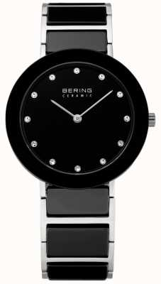 Bering 水晶镶嵌陶瓷设计师手表 11435-749