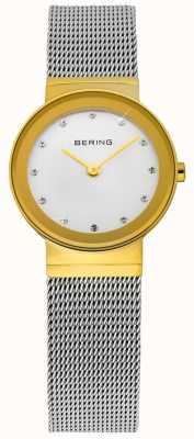 Bering 时尚女士黄金和白银经典网眼 10122-001