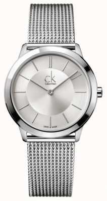 Calvin Klein 最小的收藏|不锈钢网带| K3M22126