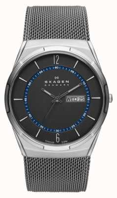Skagen 男士aktiv灰色网状钛手表 SKW6078