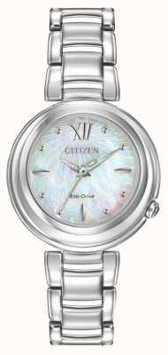 Citizen 生态驱动女性l日出手表 EM0330-55D