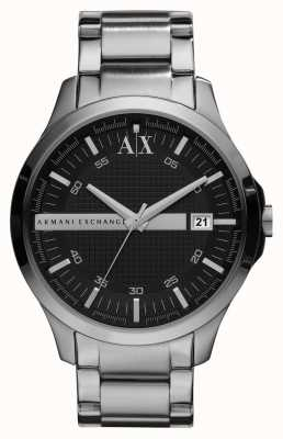 Armani Exchange 绅士智能银色调手表 AX2103
