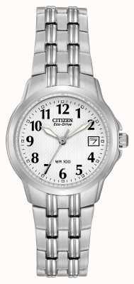 Citizen 女装剪影运动生态驱动手表 EW1540-54A