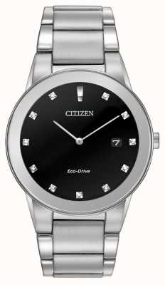 Citizen |男士生态驱动公理|黑钻表盘| AU1060-51G
