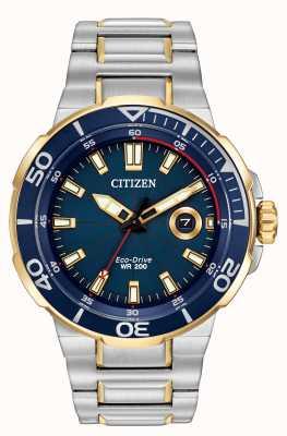Citizen 男士们尝试环保驾驶手表 AW1424-54L