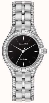 Citizen 女装剪影水晶生态驱动手表 FE2060-53E