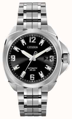 Citizen 自动豪华旅游签名不锈钢 NB0070-57E