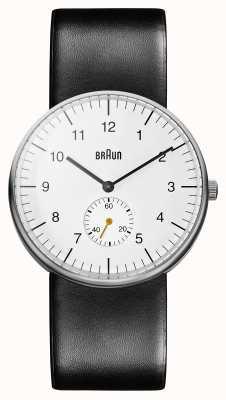 Braun 男士白色黑色手表 BN0024WHBKG