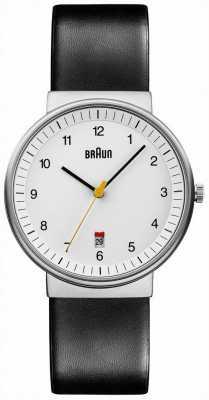 Braun 男士所有白色黑色手表 BN0032WHBKG
