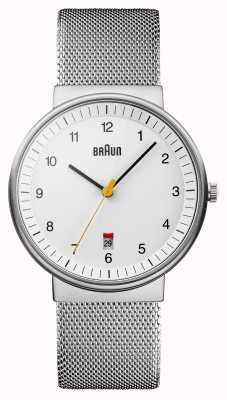 Braun 男士银白色手表 BN0032WHSLMHG