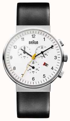 Braun 中性经典计时腕表 BN0035WHBKG