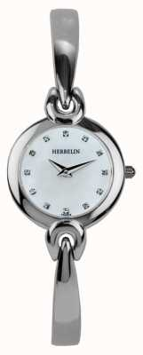 Michel Herbelin 女士不锈钢表壳,珍珠母 17001/B59