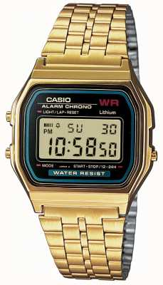 Casio 男士数码复古镀金 A159WGEA-1EF