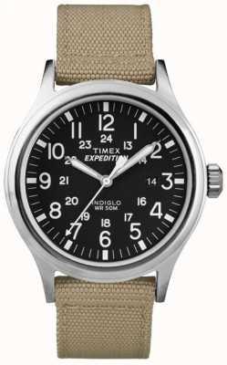 Timex 男装黑色探险侦察兵手表 T49962