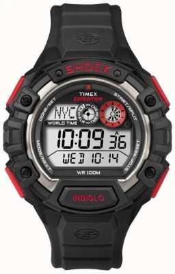 Timex 远征世界震惊报警计时码表 T49973
