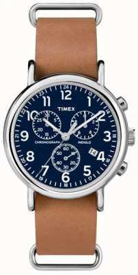 Timex 男士weekender计时码表超大 TW2P62300