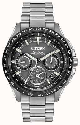 Citizen 男子f900 GPS卫星计时 CC9015-71E
