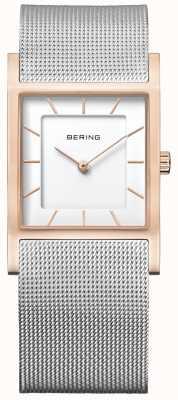 Bering 女士不锈钢网眼手链 10426-066-S