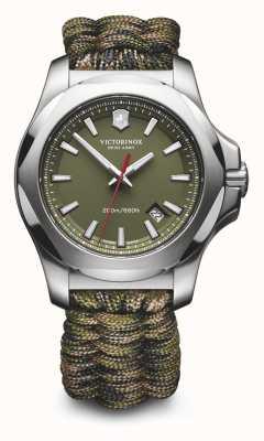 Victorinox Swiss Army 男士Inox Naimakka手链,迷彩手表 241727