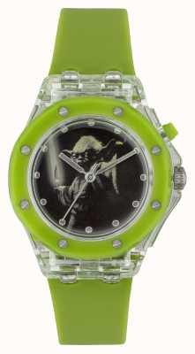 Star Wars 儿童yoda点亮绿色手表 YOD3702