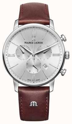 Maurice Lacroix Eliros日期真皮表带计时码表 EL1098-SS001-110-1