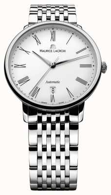 Maurice Lacroix 男士les classiques传统自动钢表 LC6067-SS002-110-1