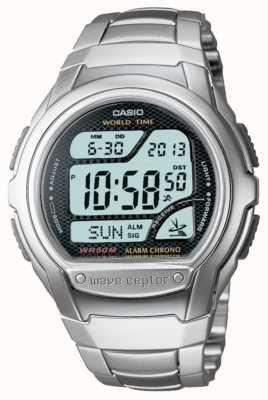 Casio Waveceptor收音机控制的闹钟计时码表 WV-58DU-1AVES