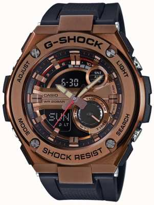 Casio G钢g-shock镀金表壳 GST-210B-4AER