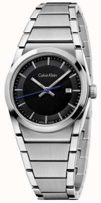 Calvin Klein 女士们一步看黑色表盘 K6K33143