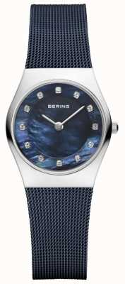 Bering 女式蓝色表带蓝色表盘 11927-307