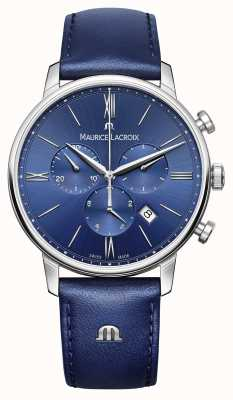 Maurice Lacroix 男士eliros不锈钢蓝宝石水晶防反射 EL1098-SS001-410-1