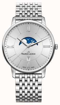 Maurice Lacroix 男士银色表盘银色金属表带 EL1108-SS002-110-1