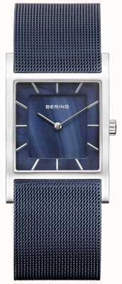 Bering 女装蓝色网眼蓝色表盘 10426-307-S
