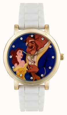 Disney Princess 儿童迪士尼公主美女和野兽白色表带 PN1267