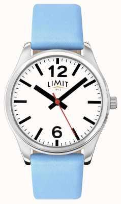 Limit 女式蓝色表带白色表盘 6182.01