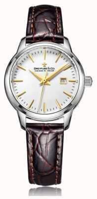Dreyfuss 女士瑞士制造棕色表带 DLS00125/02
