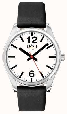 Limit 男士黑色表带白色表盘 5626.01