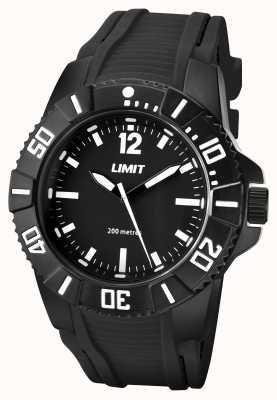 Limit 男士主动黑色表带黑色表盘 5545.02