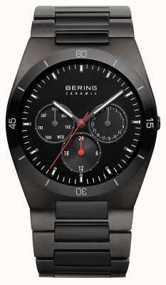 Bering 男士黑色ip镀黑色表盘 32341-792
