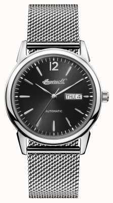 Ingersoll 1892年新款黑色不锈钢黑色表盘 I00505