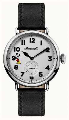 Disney By Ingersoll 男装联盟特伦顿迪士尼限量版黑色皮革 ID01202