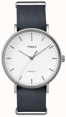 Timex 男女皆宜的weekender fairfield白色表盘 TW2P91300