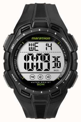 Timex 男子铁人马拉松报警黑色 TW5K94800
