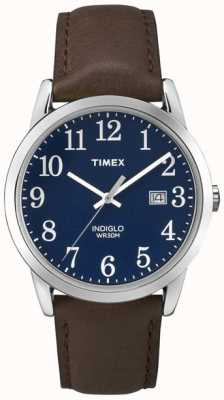 Timex 男士蓝色拨号轻松阅读 TW2P75900
