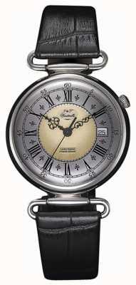 J&T Windmills 男士throgmorton机械纯银手表 WGS10002/50
